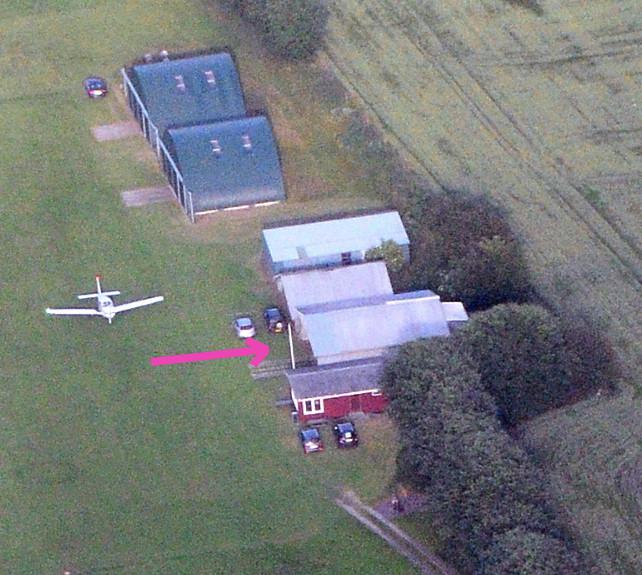 Hangarplads til leje