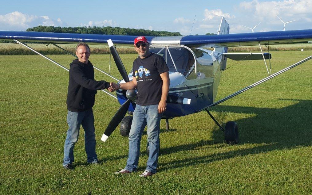 Ny pilot på EKGO