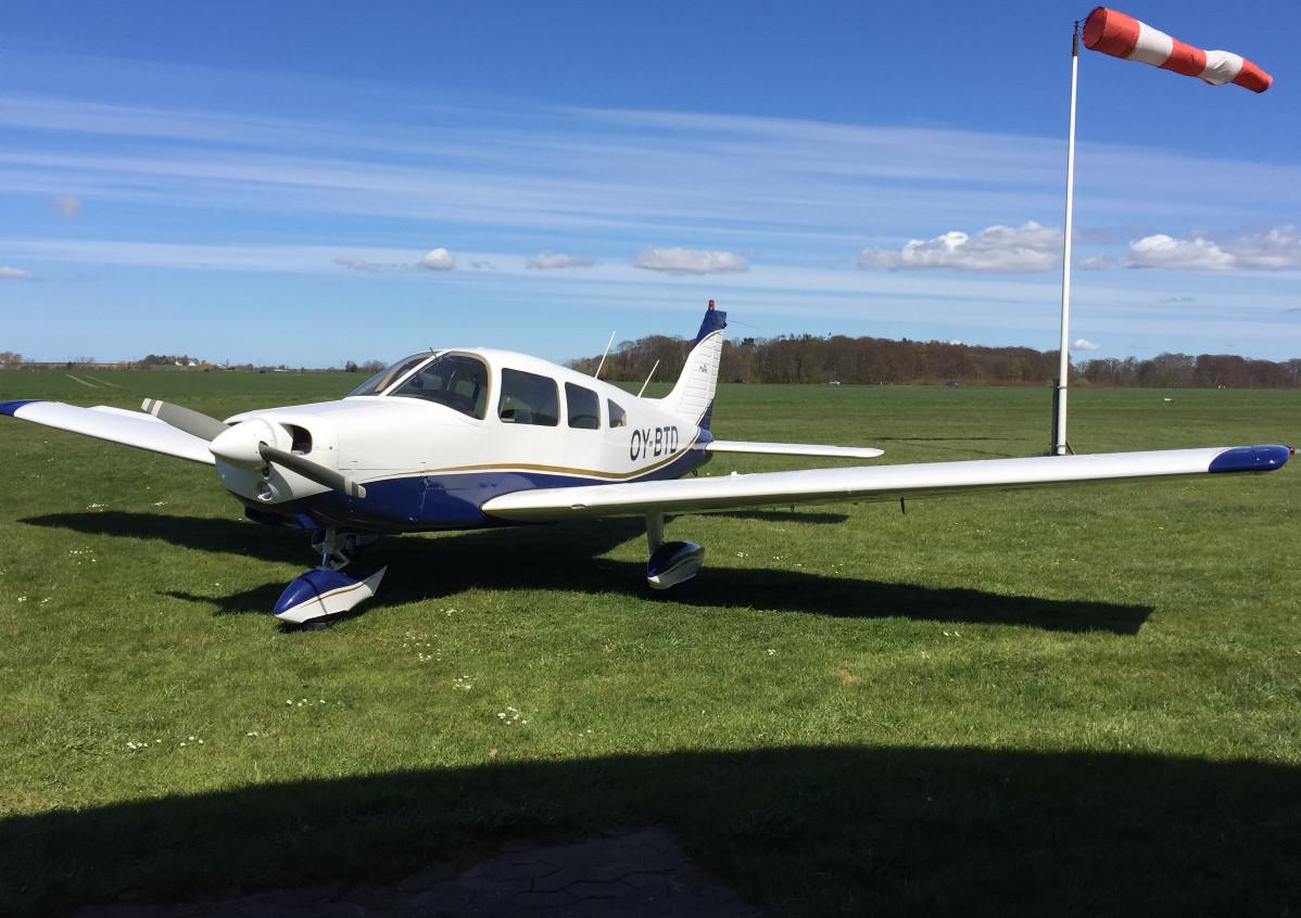 Piper Warrior 161, OYBTD